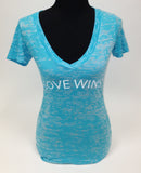 Love Wins - Crossover V-Neck