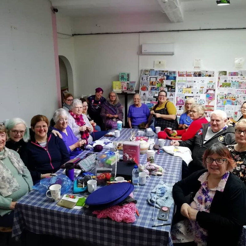 Knit n Natter, Stitch Club and Happy Stabbers @ Wakefield West Yorkshire