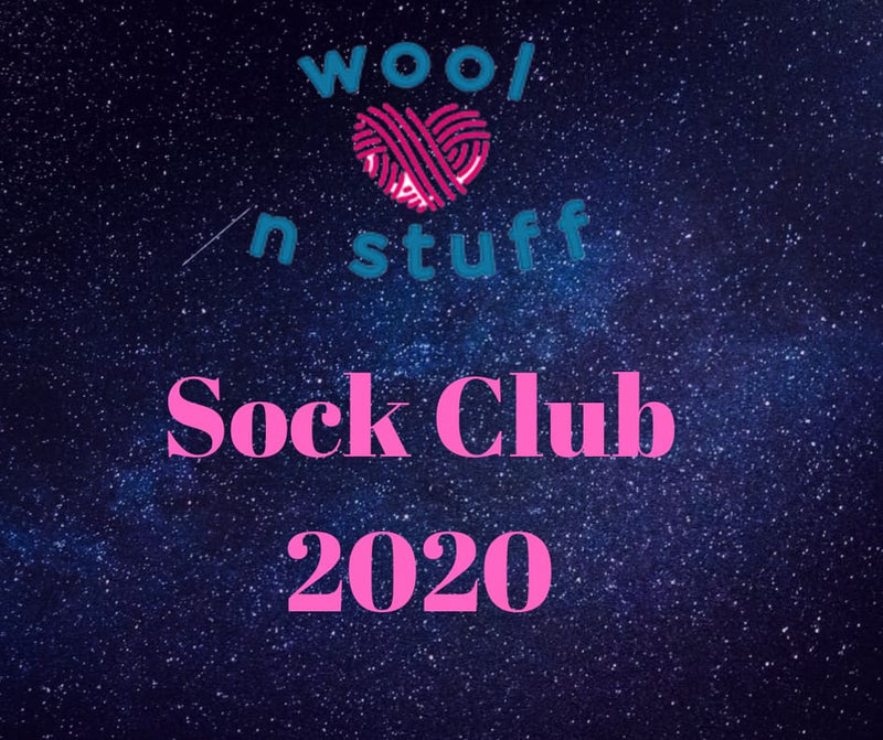 Sock Club 2020 @ Wool n Stuff Wakefield