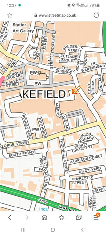 Click and collect map