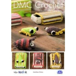 DMC Crochet Pattern Matchbox Critters 15347/L - Patterns