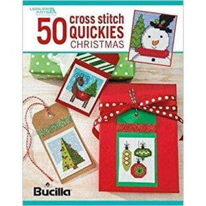 50 Cross Stitch Quickies Christmas - book