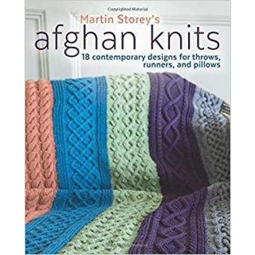 Martin Storeys Afghan Knits Book - book