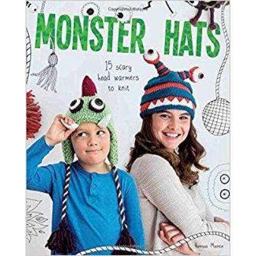 Monster Hats: 15 Scary Head-Warmers to Knit - book