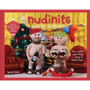 Nudinits A Naughty Knitted Noel - book