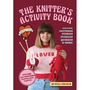 The Knitters Activity Book - book