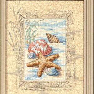 Dimensions Shells in the Sand Cross Stitch Kit