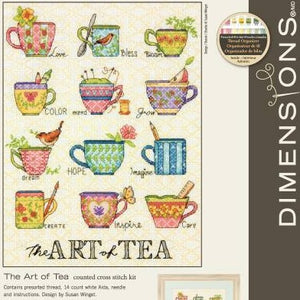 Dimensions The Art of Tea Cross Stitch Kit