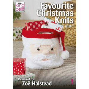 King Cole Christmas Books - Favourite Christmas Knits Book 1 - book