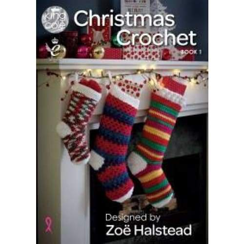 King Cole Christmas Crochet Book 1 - book