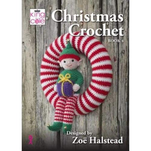 King Cole Christmas Crochet Book 4 - book