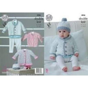 King Cole Baby Pattern 4886 - Patterns