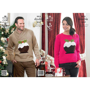 King Cole Christmas Pattern 3810 - Patterns