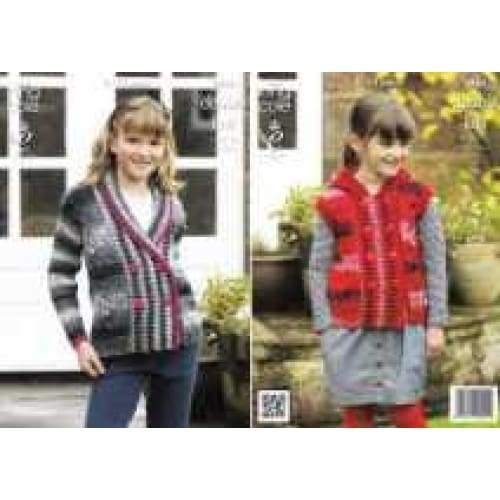 King Cole Kids DK Knitting Pattern 3665 - Patterns