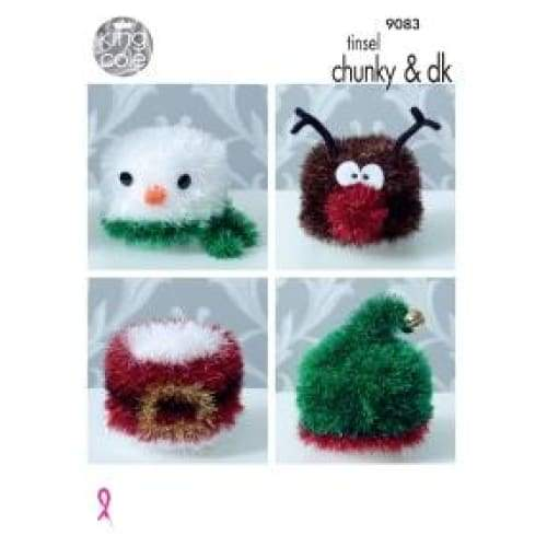 King Cole Tinsel Chunky Pattern 9083 - Patterns
