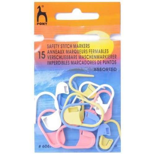 Pony Safety Stitch Markers Assorted Pack - Accessories