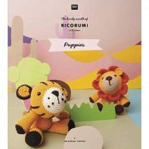 Ricorumi Puppies Crochet Pattern Book - book