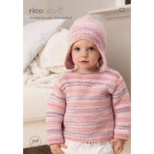 Rico Baby Dream DK Knitting Pattern 516 - Patterns