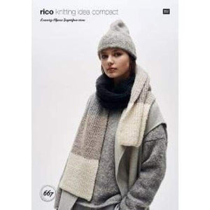 Rico Luxury Alpaca Superfine Aran Pattern 667 - Patterns