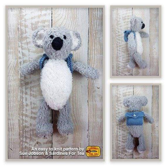Buddy the Koala Knitting Pattern - Patterns