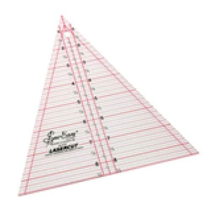 Patchwork Triangle Various Sizes - 8.5 x 7 inch triangle - Haberdashery