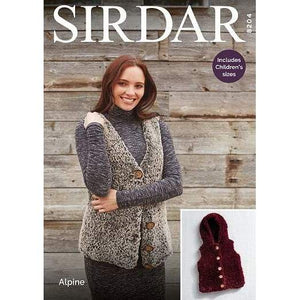 Sirdar Alpine Knitting Pattern 8204 - Patterns