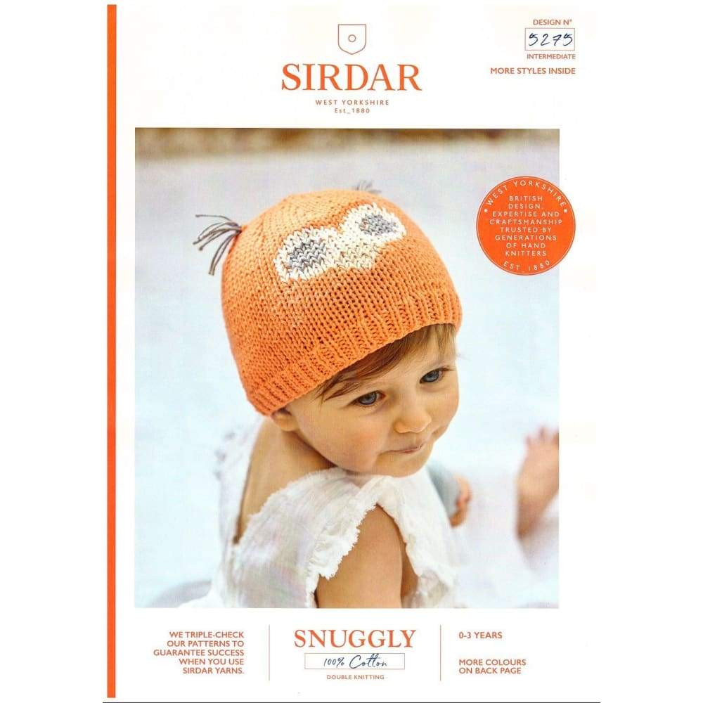 Sirdar Baby Owl DK Knitting Pattern 5275 - Patterns