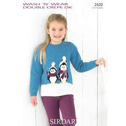 Sirdar Christmas Knitting Pattern 2420 - Patterns