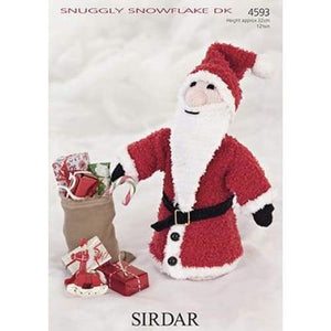 Sirdar Christmas Knitting Pattern 4593 - Patterns