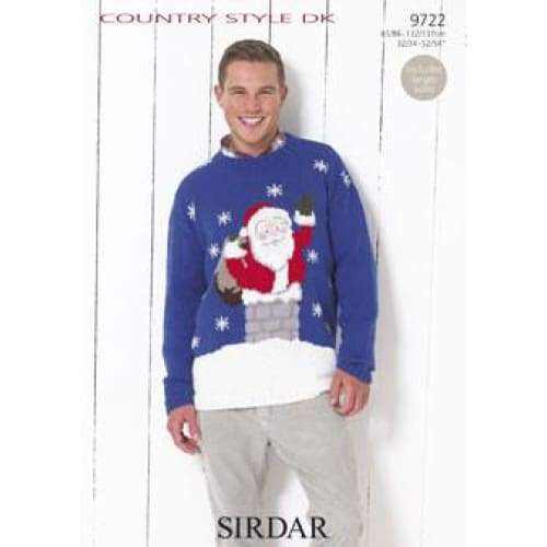 Sirdar Christmas Knitting Pattern 9722 - Patterns