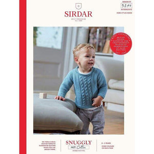 Sirdar Snuggly 100% Cotton Baby DK Knitting Pattern 5270 - Patterns