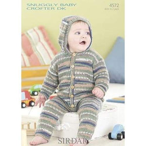 Sirdar Snuggly Baby Crofter DK Knitting Pattern 4572 - Patterns