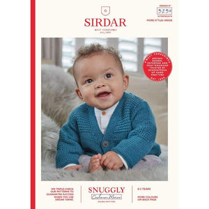 Sirdar Snuggly Cashmere Merino DK Baby Knitting Pattern 5250 - Patterns