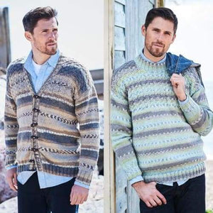 Stylecraft Mens Aran Knitting Pattern 9572 - Patterns