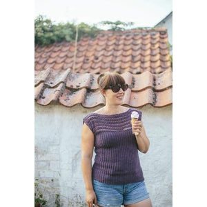 Two Row Tee Simple Crochet Top Pattern - Patterns