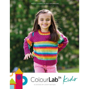 West Yorkshire Spinners Colour Lab DK Kids Pattern Book - Patterns