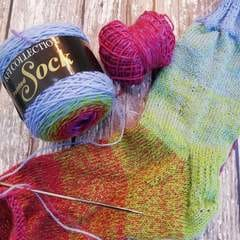 Knitting Fever Painted Sock Yarn