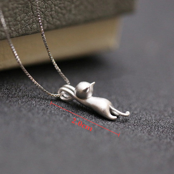 Climbing Cat Pendant - Ashley Jewels - 4