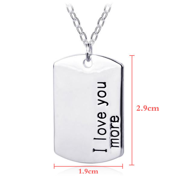 I Love You More - For Men - Ashley Jewels - 6