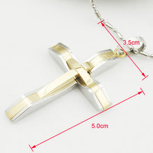 Men's Cross Pendant - Ashley Jewels - 4