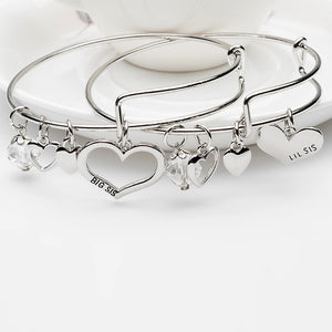 girl il bangles girls name bangle etsy kids market bracelet charm