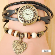 Heart Vintage Wrap Watch - Ashley Jewels - 2