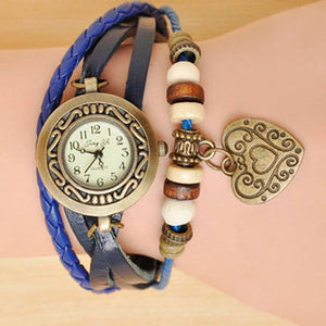 Heart Vintage Wrap Watch - Ashley Jewels - 1