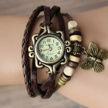 Butterfly Wrap Watch - Ashley Jewels - 1