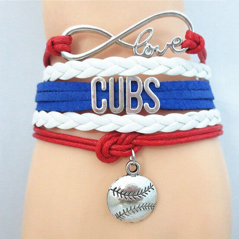 CUBS Baseball Bracelet - Ashley Jewels