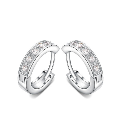 Clear Crystal Stud Earring - Ashley Jewels - 1