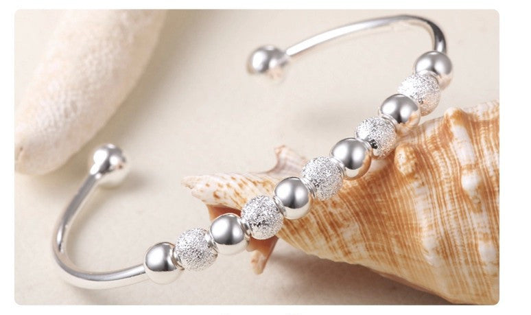 Cute Ball Bracelet - silver - Ashley Jewels - 2