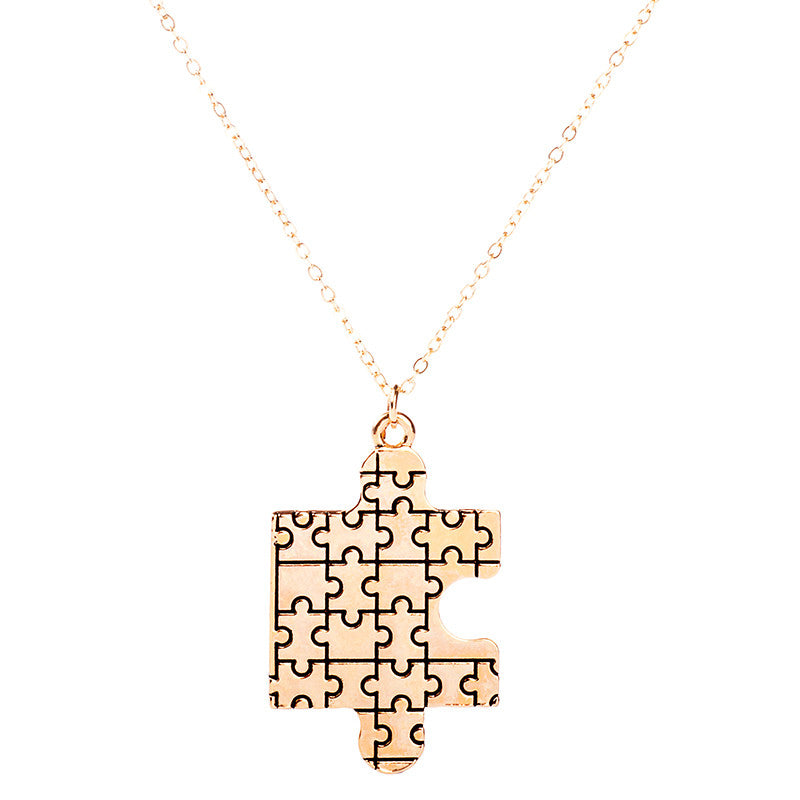 Autism Awareness Puzzle Pendant - Ashley Jewels - 3