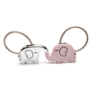 Save Elephant Love Keychain with Free Gift Box - Ashley Jewels - 2
