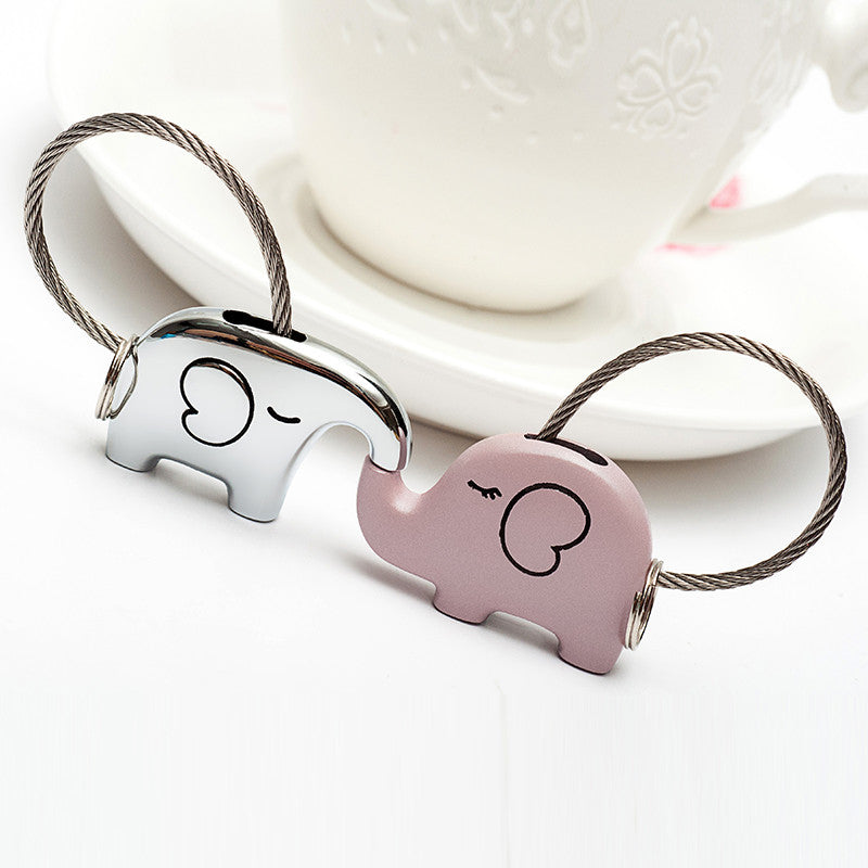 Save Elephant Love Keychain with Free Gift Box - Ashley Jewels - 7